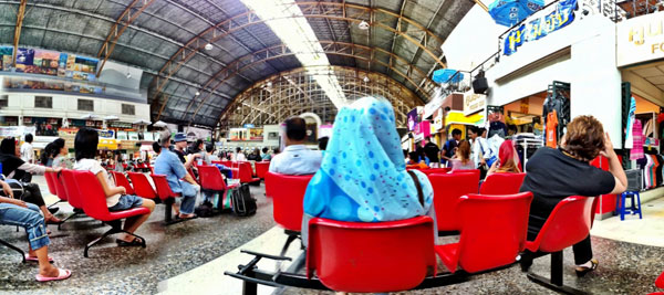 BANGKOK TRAIN STATION : PHOTO