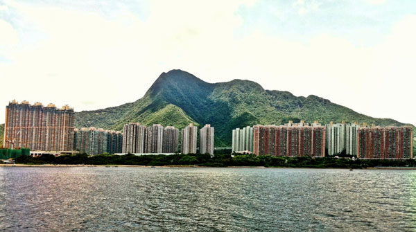 HONG KONG SKYLINE : PHOTO