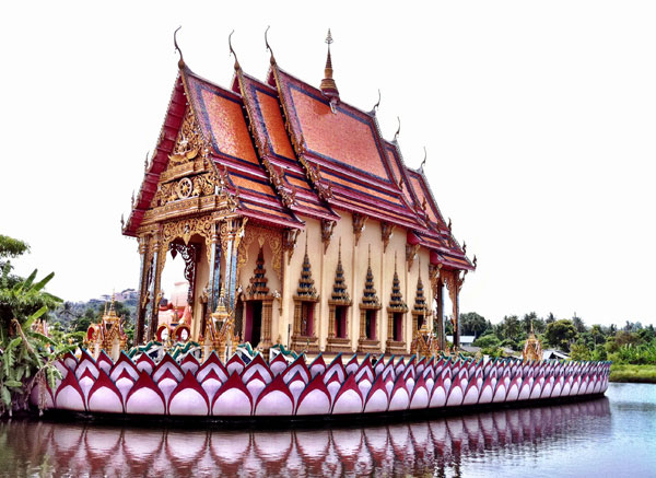 FLOATING THAI TEMPLE : PHOTO