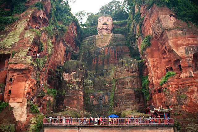 DESTINATION : Leshan Giant Buddha