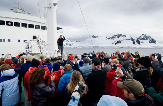 NEW YEARS EVE ANTARCTICA