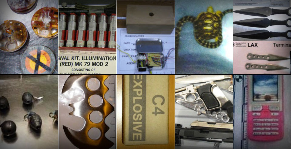 10 Crazy Things Confiscated By The TSA