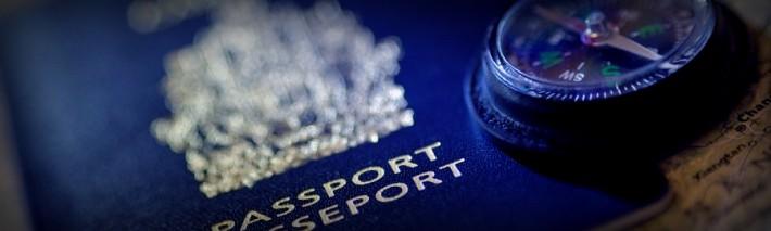 World Travel Tips - Passport and Compass
