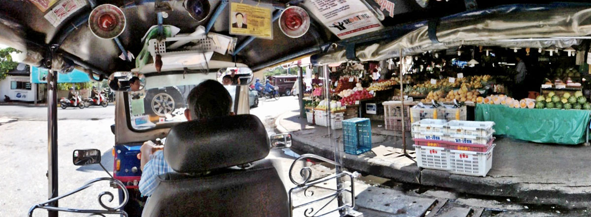 PHOTO : Panoramic POV Tuk-Tuk Ride In Thailand