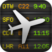 FlightBoard iPhone App for Vagabonding