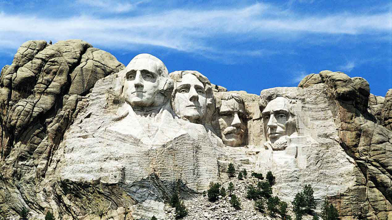 DESTINATION : Mount Rushmore