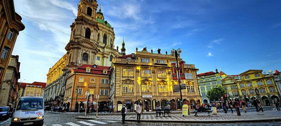 Malostranske Namesti, Prague, Czech Republic