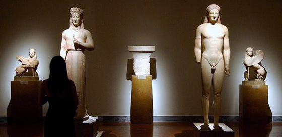 Travel to the National Archaeological Museum, Greece