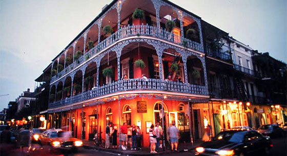 Travel to Bourbon Street, New Orleans
