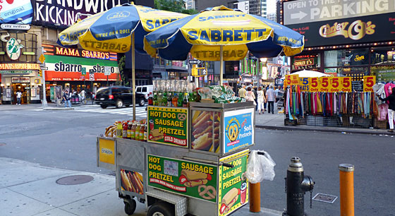Travel to New York City for the Food