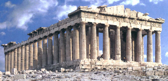Travel to the Parthenon, Greece