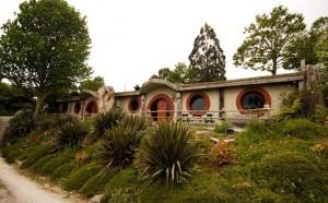 The Hobbit Motel - Waitomo, New Zealand