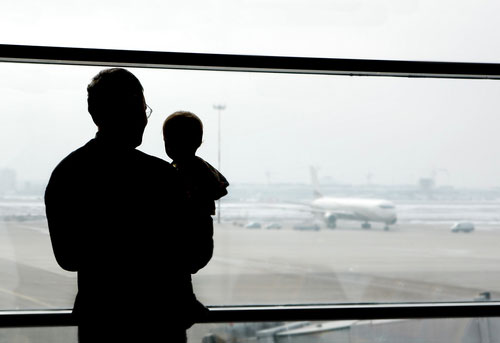 Travel, baby, airport and planes.
