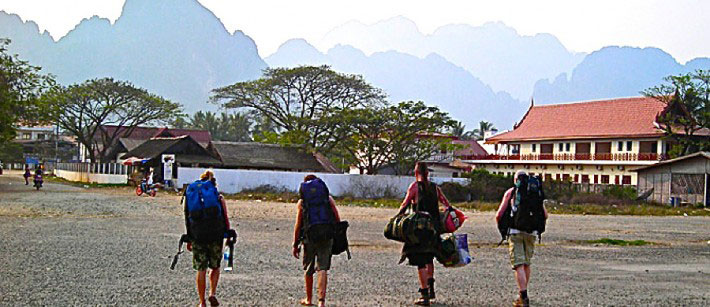 Backpackers Backpacking Travel