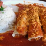 Tamales with Rice in Cancun, Mexico