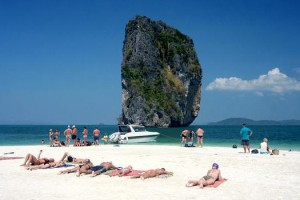 Backpacking travel Krabi Beaches
