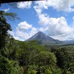 Arenal Volcano in Guanacaste, Costa-Rica