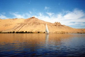 Backpacking the Nile River and Sailing, Egypt