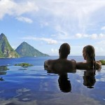 Couple in St Lucia