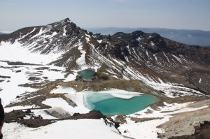 Backpacking Tongariro Park