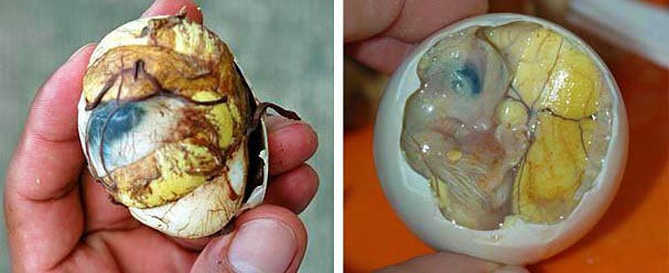 Balut, Exotic and Weird Foods Around the World