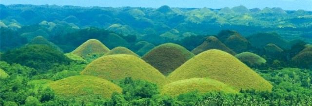 Chocolate Hills of Boho, Philippines Backpacking