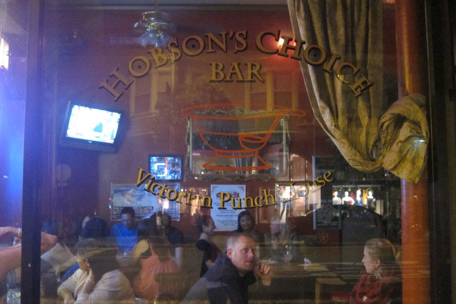 Hobson's Choice Bar, San Francisco