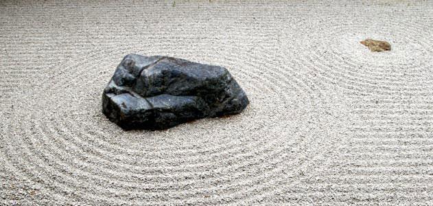 Backpacking the Zen Garden