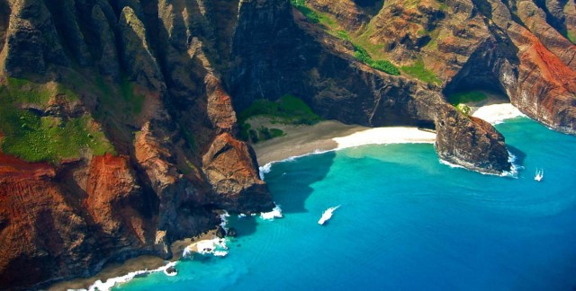 Na'Pali Coast Beaches, Hawaii, USA
