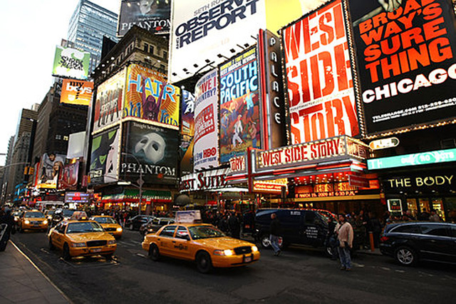 Backpacking Broadway Shows, New York