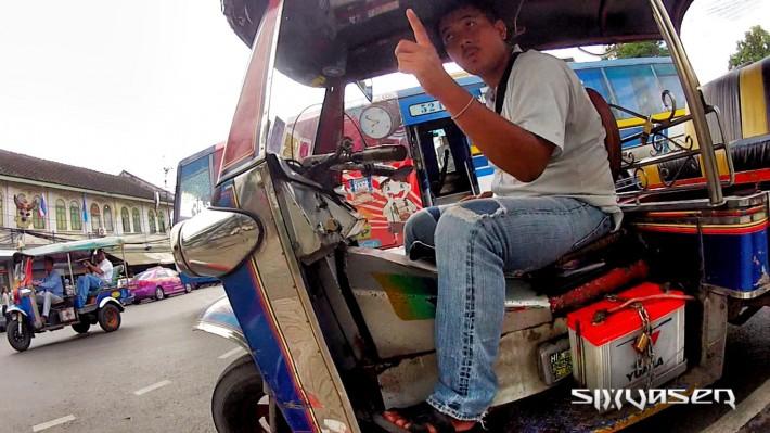 Tuk-tuk in Thailand, Bangkok - Backpacking