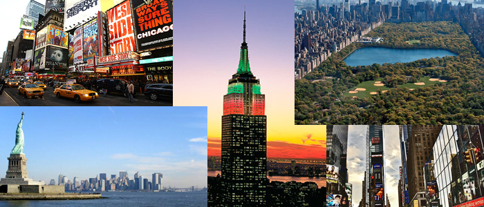Top 5 Places to See in New York City