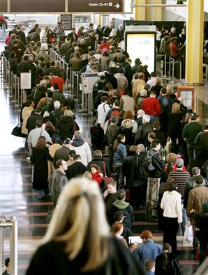 Why Travel Sucks - Long Lines for Airport Security