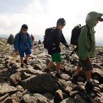 Backpackers on the Appalachian Trail