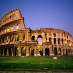 Colosseum, Rome + Backpacking