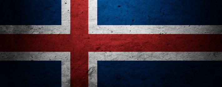 Iceland Flag Backpacking