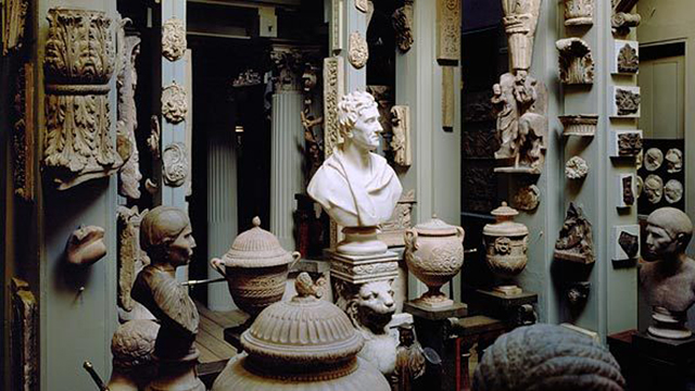 Sir John Soane Museum, London + Backpacking