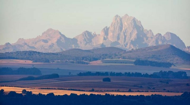 Mount Kenya, Kenya + Backpacking