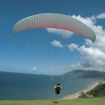 Backpacker Paragliding in Cairn, Australia
