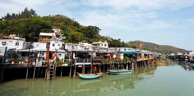 Backpacking the Tai O Fishing Village, Hong Kong