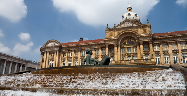 Victoria Square, Birmingham + Backpacking