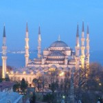 Blue Mosque, Istanbul + Backpacking