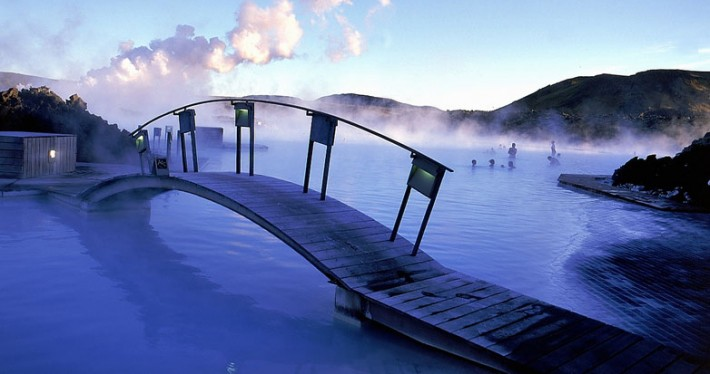 Blue Lagoon in Iceland - Backpacking Travel