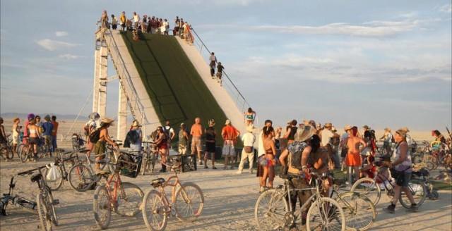 Burning Man Festival - Backpacking Travel