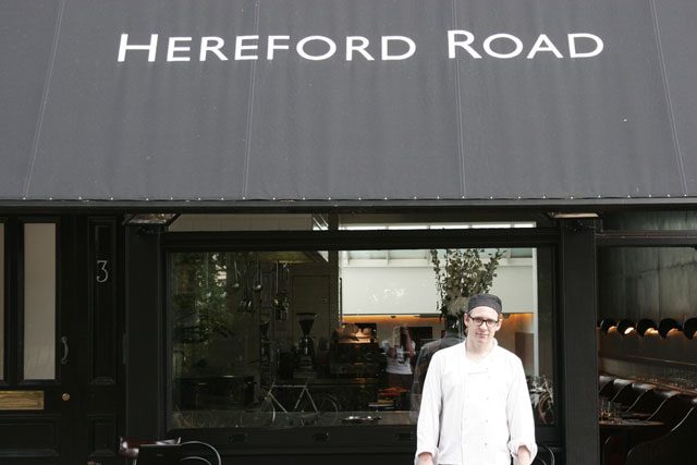 Hereford Restaurant, London