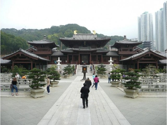 Chi Lin Nunnery, Hong Kong for Travel