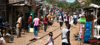Africa Slum Street
