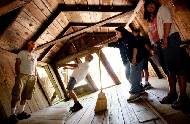 The Oregon Vortex House