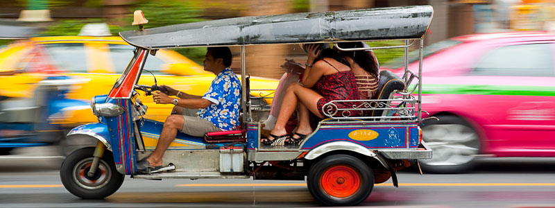 How Tourists Get Around Town: Modes Of Transportation