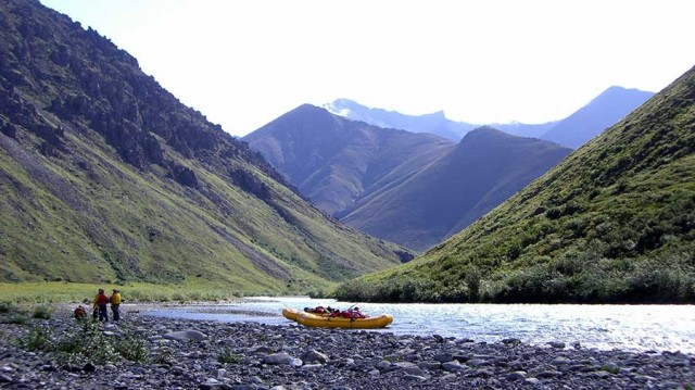 Travel to Alaska for Rafting Wildlife Quest